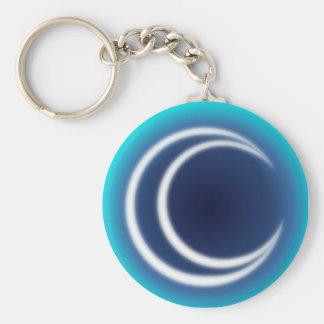 MoonShine Basic Round Button Keychain