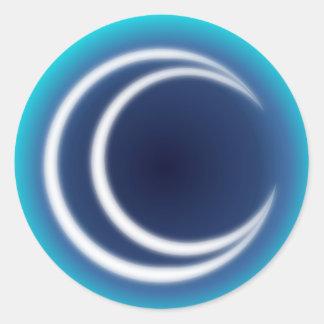 MoonShine Classic Round Sticker