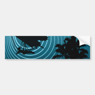 moonshine hang gliding bumper sticker