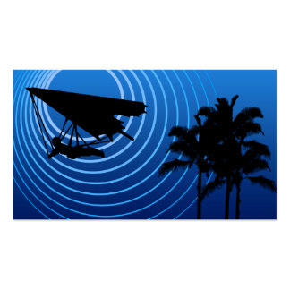 moonshine hang gliding business card template