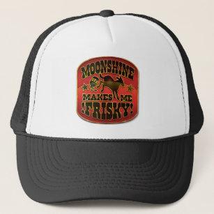 ffdc6496 Moonshine Makes Me Frisky! Trucker Hat
