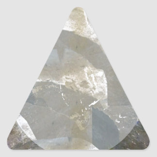 Moonshine over stones for church wall construction triangle sticker