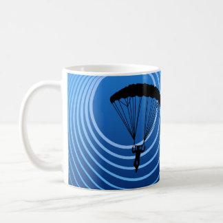 moonshine skydiver coffee mug