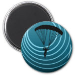 moonshine skydiving 2 inch round magnet