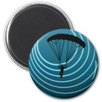 moonshine skydiving refrigerator magnet