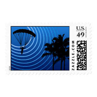 moonshine skydiving postage stamp