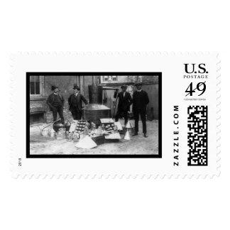 Moonshine Still IRS 1922 Postage Stamp