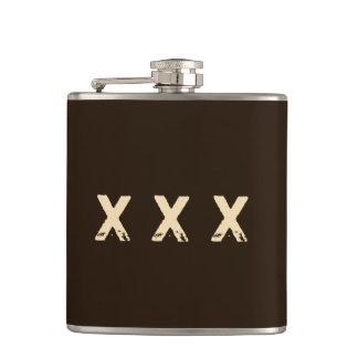 Moonshine Style Monogram Hip Flask