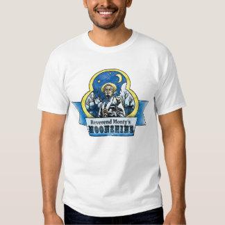Moonshine T-shirt de Monty reverendo Remeras