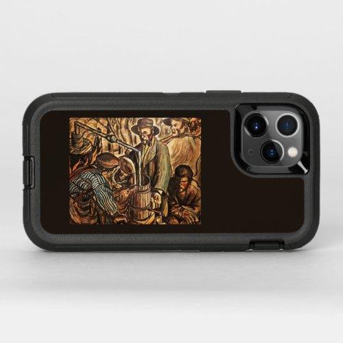 Moonshiners Making White Lightning Liquor OtterBox Defender iPhone 11 Pro Case