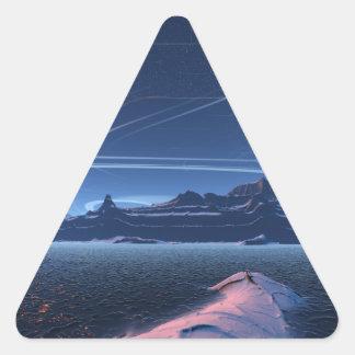 Moonshining Triangle Sticker