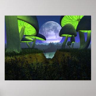 Moonshrooms Póster