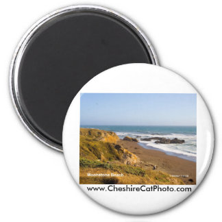 Moonstone Beach Cambria California Products 2 Inch Round Magnet