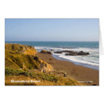 Moonstone Beach Cambria California Products Greeting Card