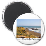 Moonstone Beach Cambria California Products Fridge Magnet