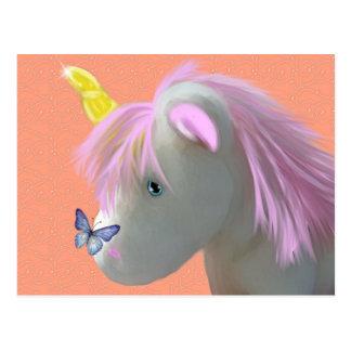 Moonstone el unicornio tarjetas postales
