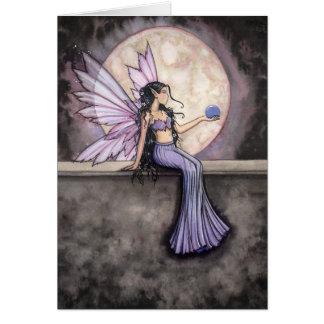 Moonstone Fairy Greeting Card