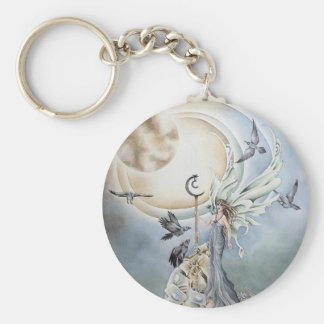 Moonstone Keychain