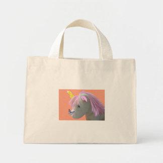 Moonstone the Unicorn Canvas Bags