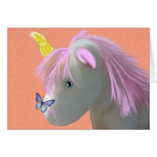 Moonstone the unicorn card
