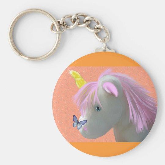 Moonstone the unicorn keychain