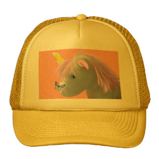 Moonstone the unicorn mesh hats