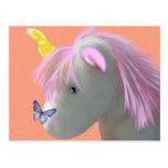 Moonstone the unicorn postcard