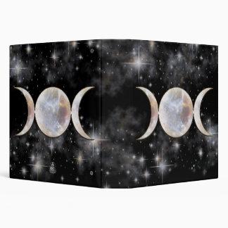 """Moonstone triple de la luna carpeta 1 1/2"""""""