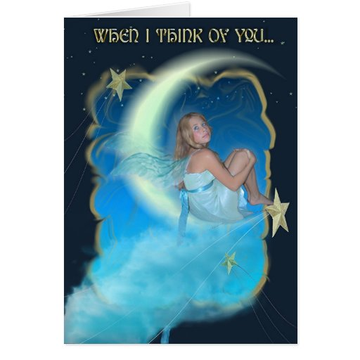 Moonstruck - Thinking Of You Card