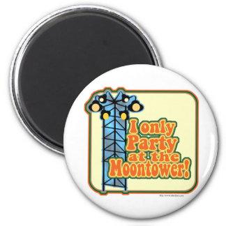 Moontower Party Fridge Magnet
