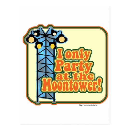 Moontower Party Postcard