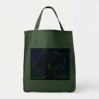 MoonTree Grocery Tote Bags