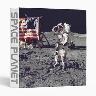 Moonwalk Apollo 17 3 Ring Binder