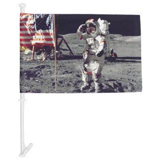 Moonwalk Apollo 17 Car Flag