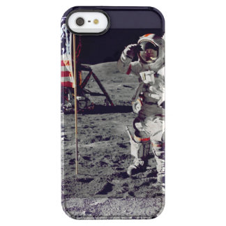 Moonwalk Apollo 17 Clear iPhone SE/5/5s Case