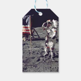 Moonwalk Apollo 17 Gift Tags
