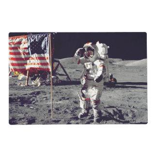 Moonwalk Apollo 17 Placemat