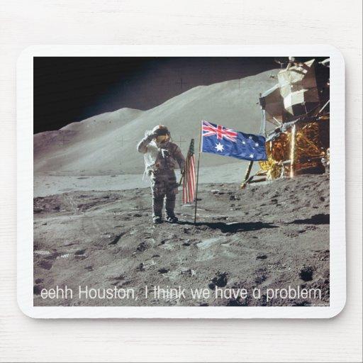 Moonwalk-Australia Mouse Pad