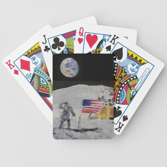 Moonwalk Bicycle Playing Cards