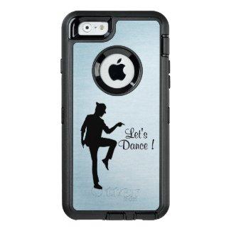Moonwalk Dancer Blue OtterBox iPhone Case