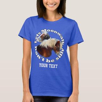 Moonwalking Shetland pony T-Shirt