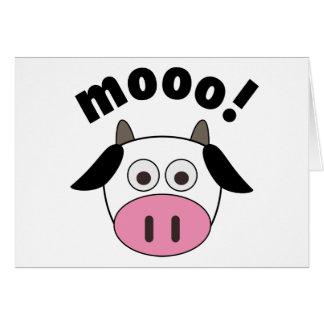 Mooo! Cow Card