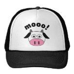 Mooo! Cow Mesh Hat