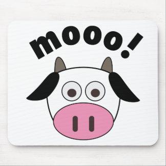 Mooo! Cow Mouse Pad
