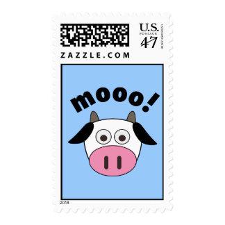 Mooo! Cow Postage