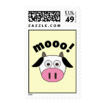 Mooo! Cow Postage Stamps