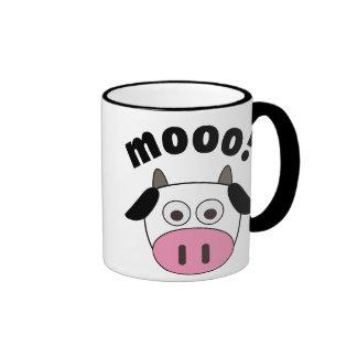 Mooo! Cow Ringer Mug