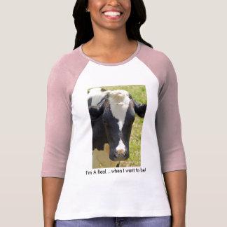 Mooo Cow Woman's T-Shirt