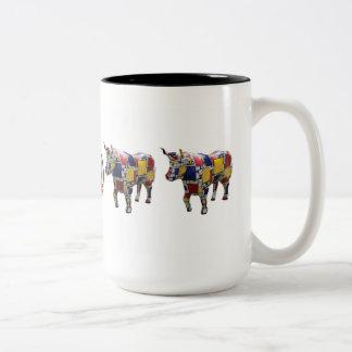 """""""Mooo'ndrian"""" 15 oz mug"""