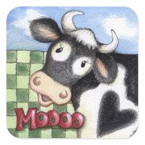 Moooo - Stickers